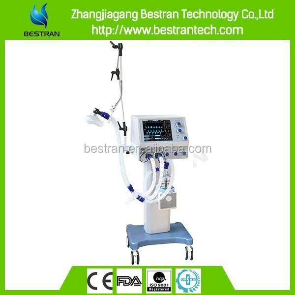 "BT-S700B1 CE ISO hospital 10.4""LCD display screen cheap icu ventilator brands"