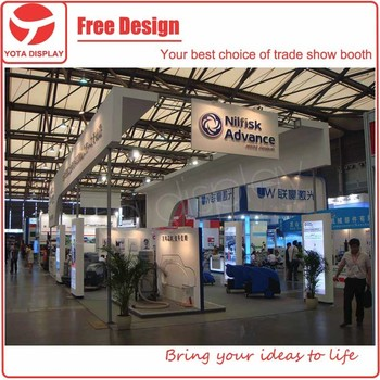 Exhibition Stand On Rent : Yota offer rent service for konecranes modular exhibition stand