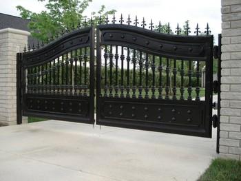 Outdoor Security Metal Gatesoutdoor Gate DesignMetal Gates Buy