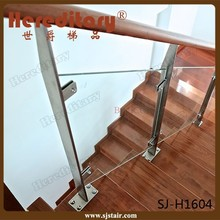 Durable 304 316 Stainless Steel Stair Handrail Glass Post Railing Base Plate