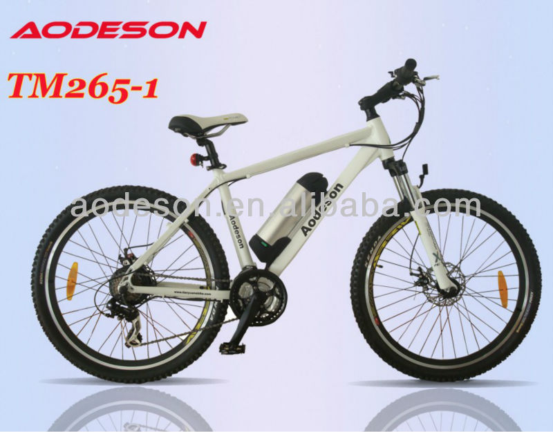 Sportive electric mountain bicycle TM265-1 Fitness FUN and Functionality