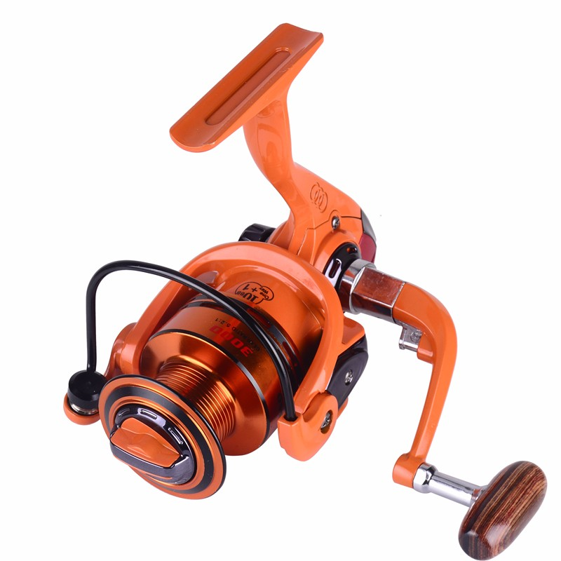 Carrete de pesca de agua dulce carretilha deporte al aire libre de pesca 5,2 1