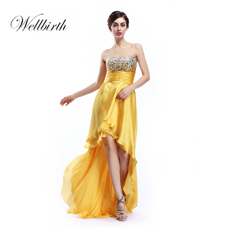 Hard-Working Free Shipping Maxi Vestidos De Fiesta Formal Elegant Sexy Open Leg Gold Paillette And Party Long Gown Prom Mother Of Bride Dress Weddings & Events