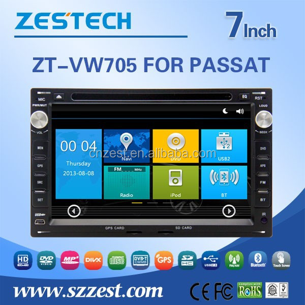 2 din car dvd gps for volkswagen passat bluetooth 3G radio audio