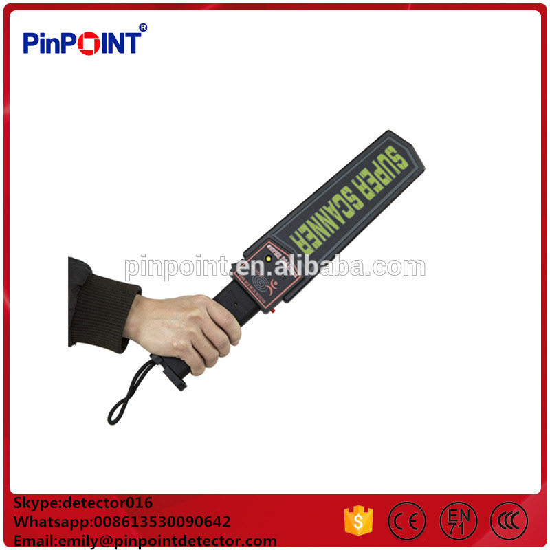 Highly sensitive Visual underground metal detector hand held metal detector for sale