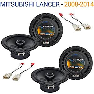 Mitsubishi Lancer 2008-2014 Factory Speaker Replacement Harmony (2) R65 Package