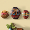 Creative Indian pottery wall decor resin 3d wall art decor