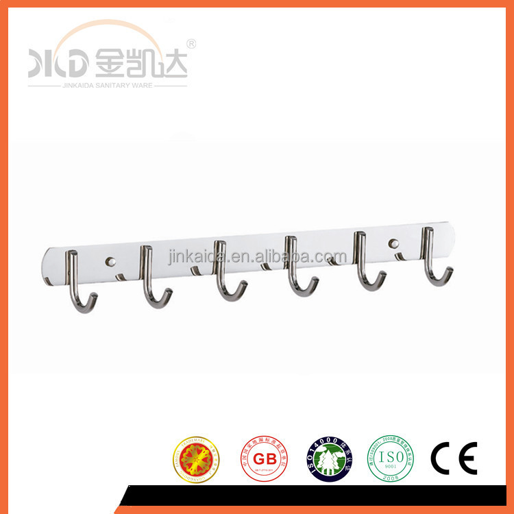 Stainless steel cloth hook stainless steel board zinc hooks