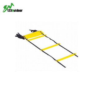 Football & Soccer Quick Flat Rung Agility Ladder With Carry Bag Training Equipment