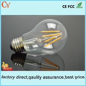 A19 Edsion led bulb clear round bulb DC12V Christmas led light