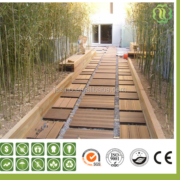 Outdoor Wood Floor Panels/parquet Floor Tiles/patio Floor Covering