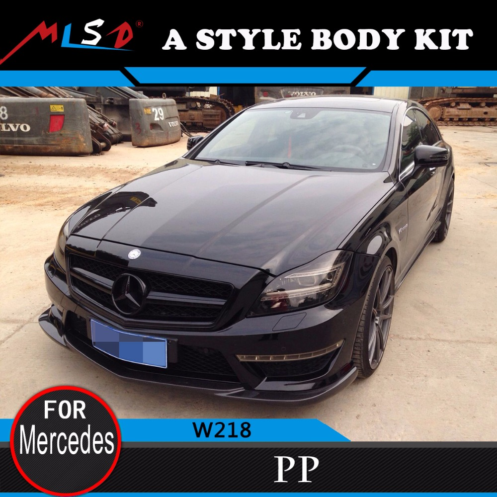 High Quality MLSD Hot Sale A style body kit for Mercedes-Benz W218 CLS Series