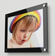 china supplier high quality clear acrylic digital multiple magnetic photo frame for kids