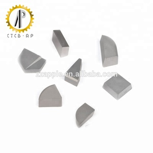 YG6 carbide tips/tungsten carbide cutting tips carbide brazed tips for turning tools