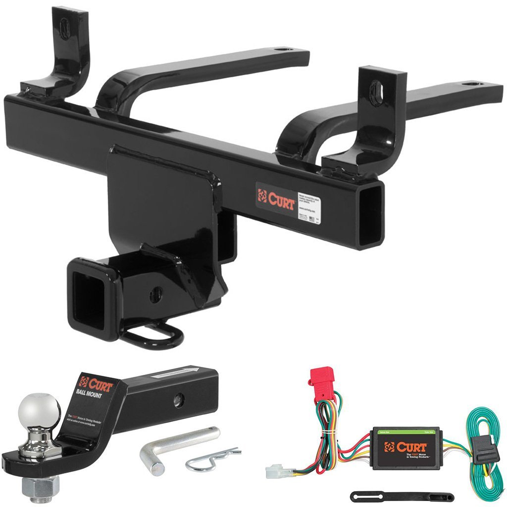 """CURT Class 3 Hitch Tow Package with 1-7/8"""" Ball for Subaru B9 Tribeca, Tribeca"""