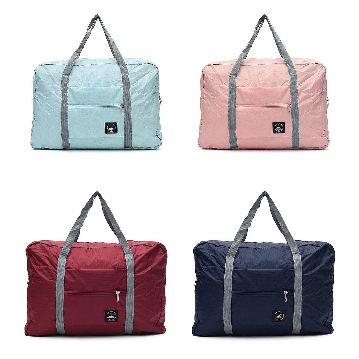 dDanke Travel Foldable Duffel Bag for Women & Men, Lightweight Travel Luggage Bag Luggage Duffel 4 Color Choices for Sports, Gym, Vacation