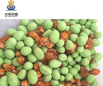 Good-Tasting Crispy Peanuts Mixed With Dried Clovefish