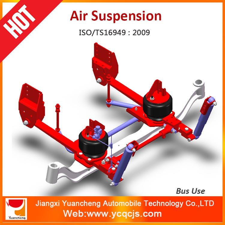 YCAS-101 Bus Air Suspension System Airbag Suspension Set For 7-8m Passenger Bus