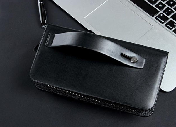 Direct Manufacturer Baellerry Men's Clutch Bag Large Capacity Leather Wallet