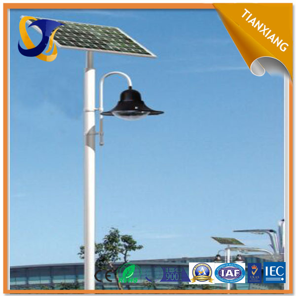 used in square high efficiency solar 30w led garden lamp