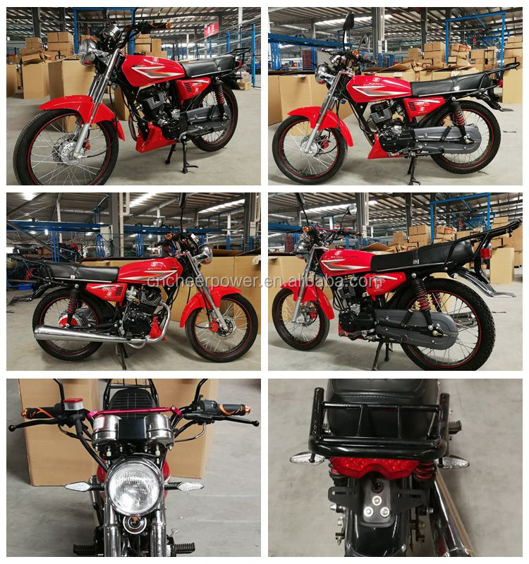 High Quality 125CC Off Road Motorcycle CG125 Bike From ChongQing  Factory