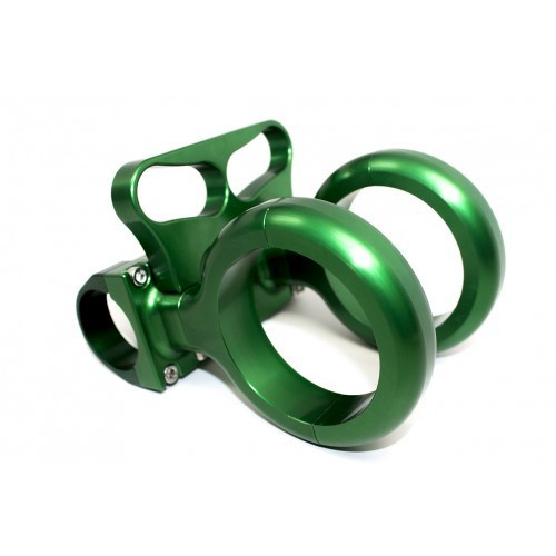 green clamp-on 175 billet aluminum fire extinguish ATV UTV Clamp