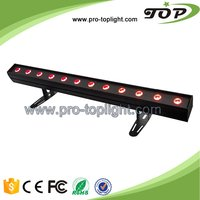 Monochrome colorful high power LED wall washer manufacturers 24X12W RGBWA 5in1 wall washer