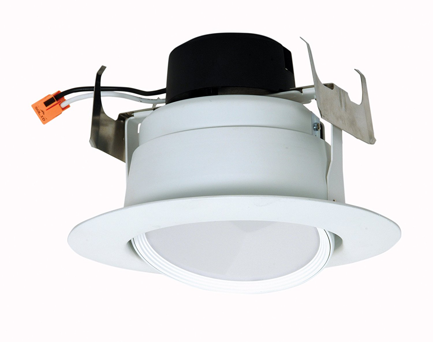 "Satco S9473 LED Directional Retrofit Downlight 5""-6"" 3000K 120V Dimmable Light Bulb, 12W"