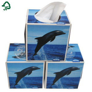 Facial tissue box Style and Office & Hotel Application china paper tissue