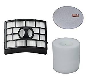 Best Vacuum Filter compatible with Shark NV650 HEPA, Foam & Felt Filter Bundle Fits AX950, AX951, AX952, AZ1000W, AZ1002, AZ1002BRN, NV650 NV651 NV652 NV750 NV751 Vacuums Part # XFF650 & XHF650