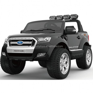 Top quality new style the multifunctional licensed Ford Ranger popular battery kids car electric cars 12v remote control pink