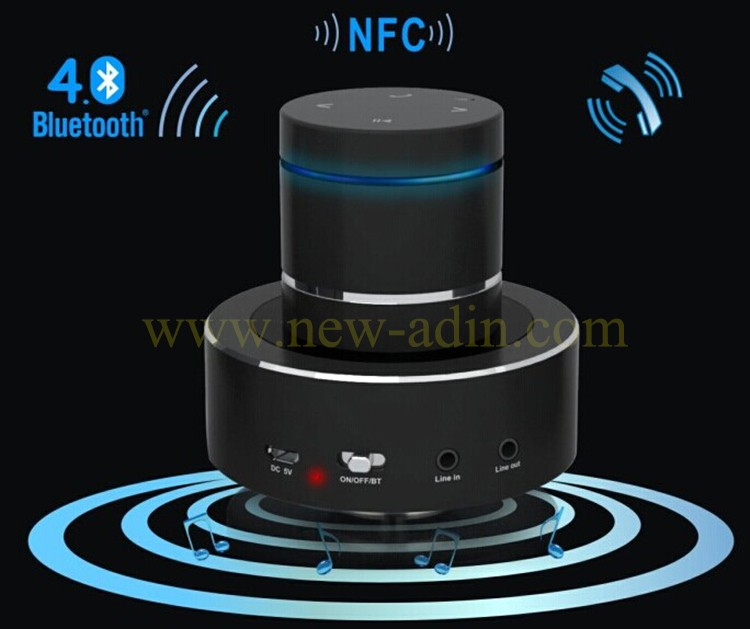 BQB 26W Bluetooth speaker mini portable wireless car subwoofer with microphone