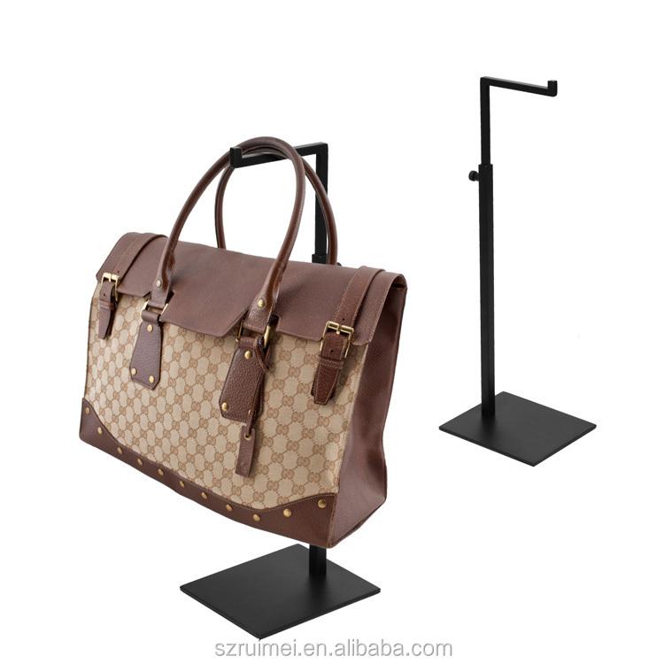 Table Top Fashionable Adjustable Promotion Bag Hanger Stand