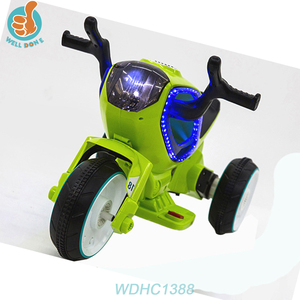 WDHC1388 Children Toys Ride On Car Kids Electric Motorcycle For Sales Gbm Battery