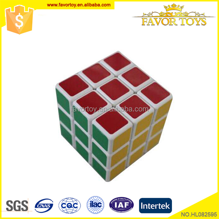 cheap fashion custom made magic cube for education