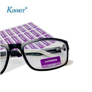 Kinmit Factory High Quality Adhesive Waterproof Eyeglasses Label