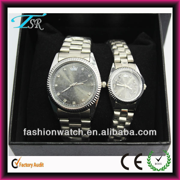 Hot salling with waterproof watch dial diamond setting