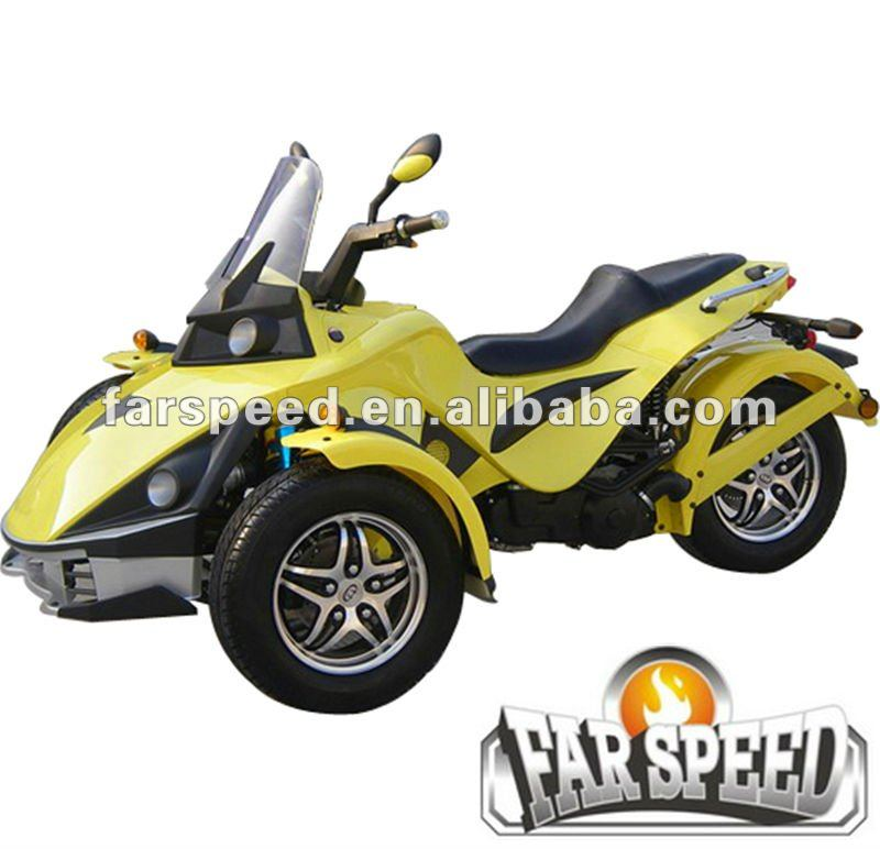 250cc can am spyder roadster three wheel atv. Black Bedroom Furniture Sets. Home Design Ideas