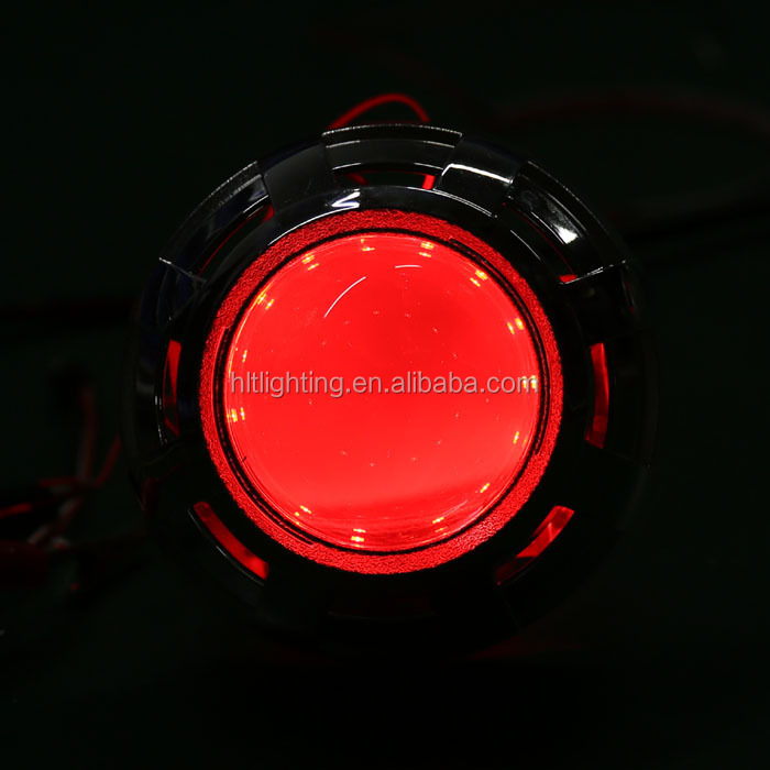 Circular Projector Led Devil Eye Demon Eye For 2.5inch Projector Lens Devil Eye Projector Headlight