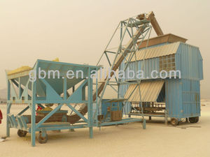 containerized mobile weighing and bag unit