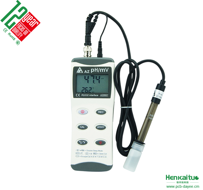 High Accuracy Handy Digital Temp ORP PH Meter for Water Culture
