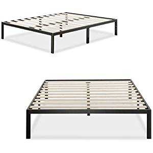 Modern Studio Metal Platform Bed 1000 by Zinus, Twin