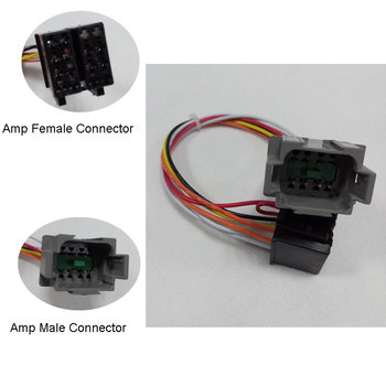 iso pin nylon pvc material amp male connector vehicle wiring iso 7 pin nylon pvc material amp male connector vehicle wiring harness