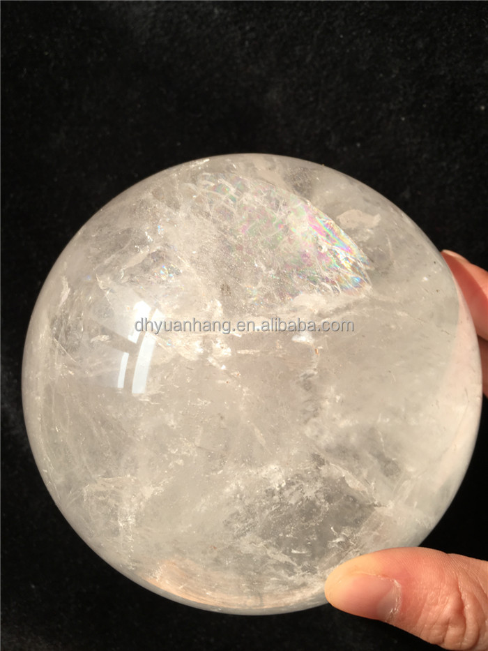 Natural large clear rock quartz crystal ball,large ball for sale,large crystal ball sphere