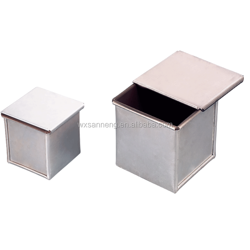 100% Food Grade Teflon Coating Square Bread Tin With Special Use