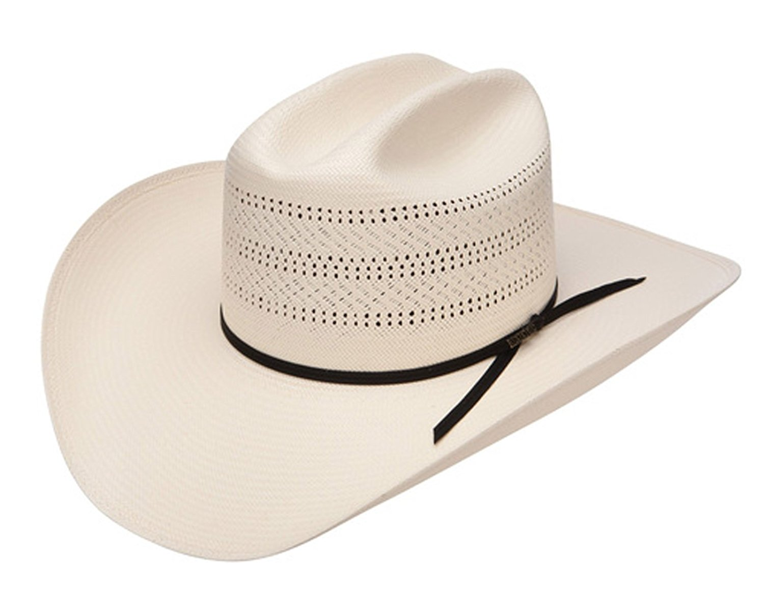 9d791bc4 Get Quotations · Stetson And Dobbs Hats RSCHAS-3042 Chase Cowboy Hat,  Natural - XL