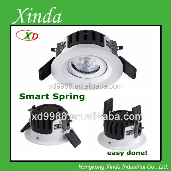 90 minutes fire-rated ceiling tested 8W Lextar cob chip LED downlight