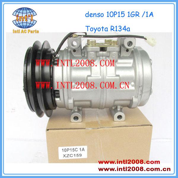 Compressor Denso 10p15 R-134a Hilux / Corolla 5450 Air ...