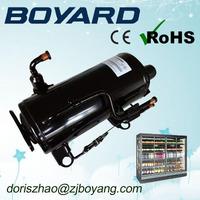 zhejiang boyard r134a r404a truck refrigeration units small refrigerator compressor QHD-23K 1.5 HP for commecial refrigeration