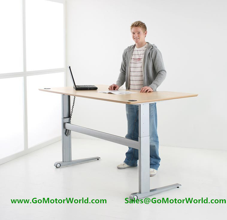 wholesale two or three legs electric height adjustable office desk